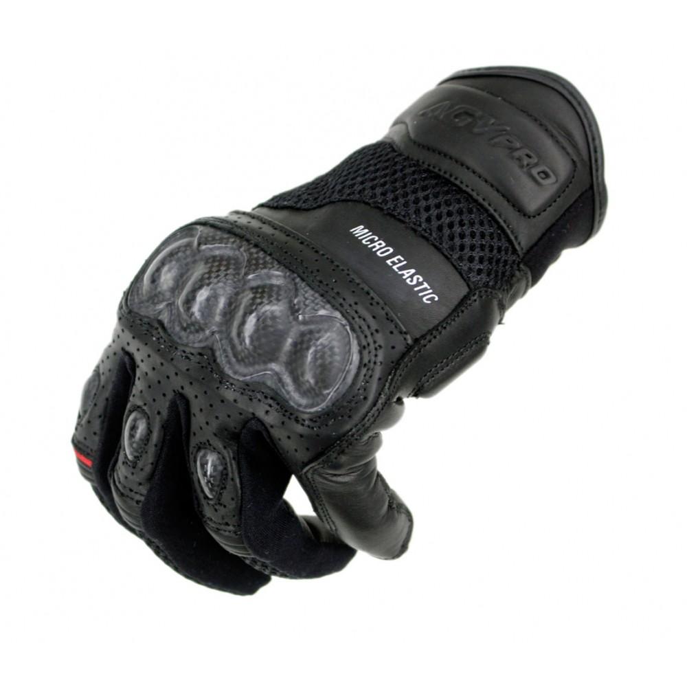 4ef276eaa4 AGVpro SWIFT Carbon Black δερμάτινα γάντια